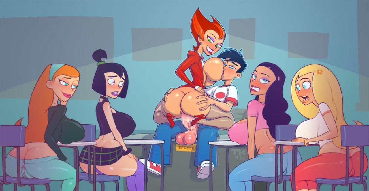 asses pleasing Danny Phantom